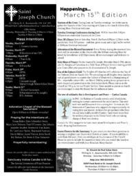 2020 March 15 Bulletin